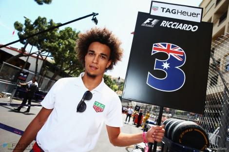 Daniel Ricciardo's 'grid guy', Monte-Carlo, 2015