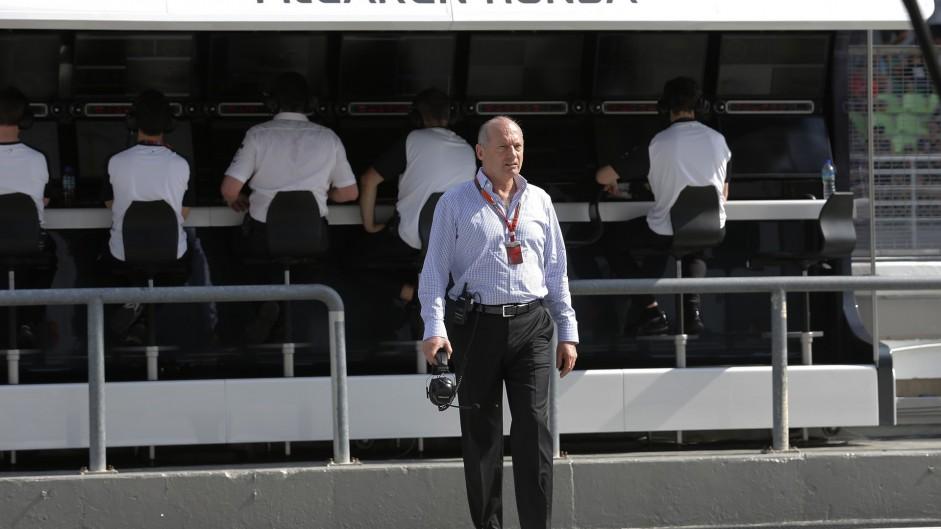 Ron Dennis, McLaren, Suzuka, 2015