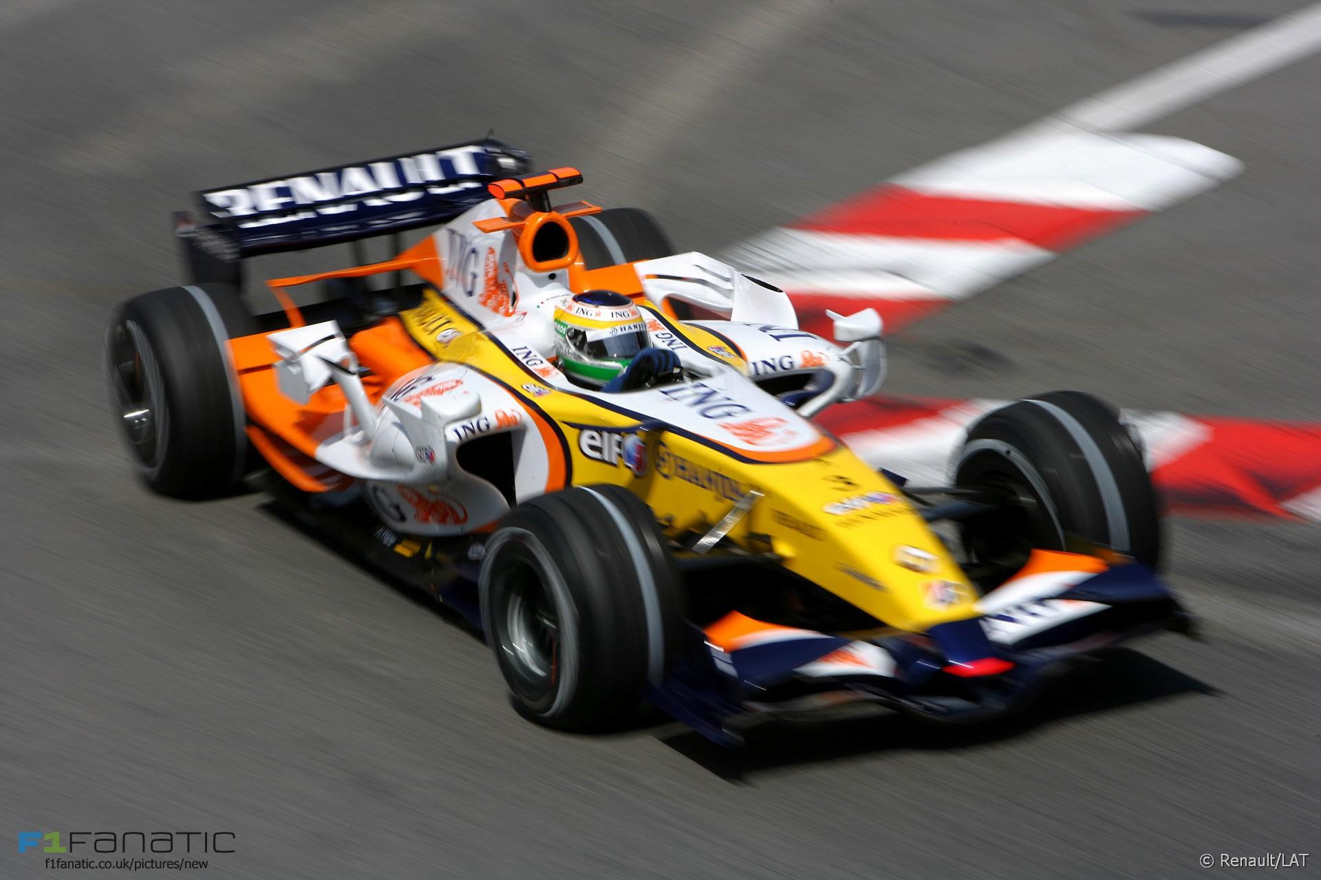 Giancarlo Fisichella, Renault, Monte-Carlo, Monaco, 2007