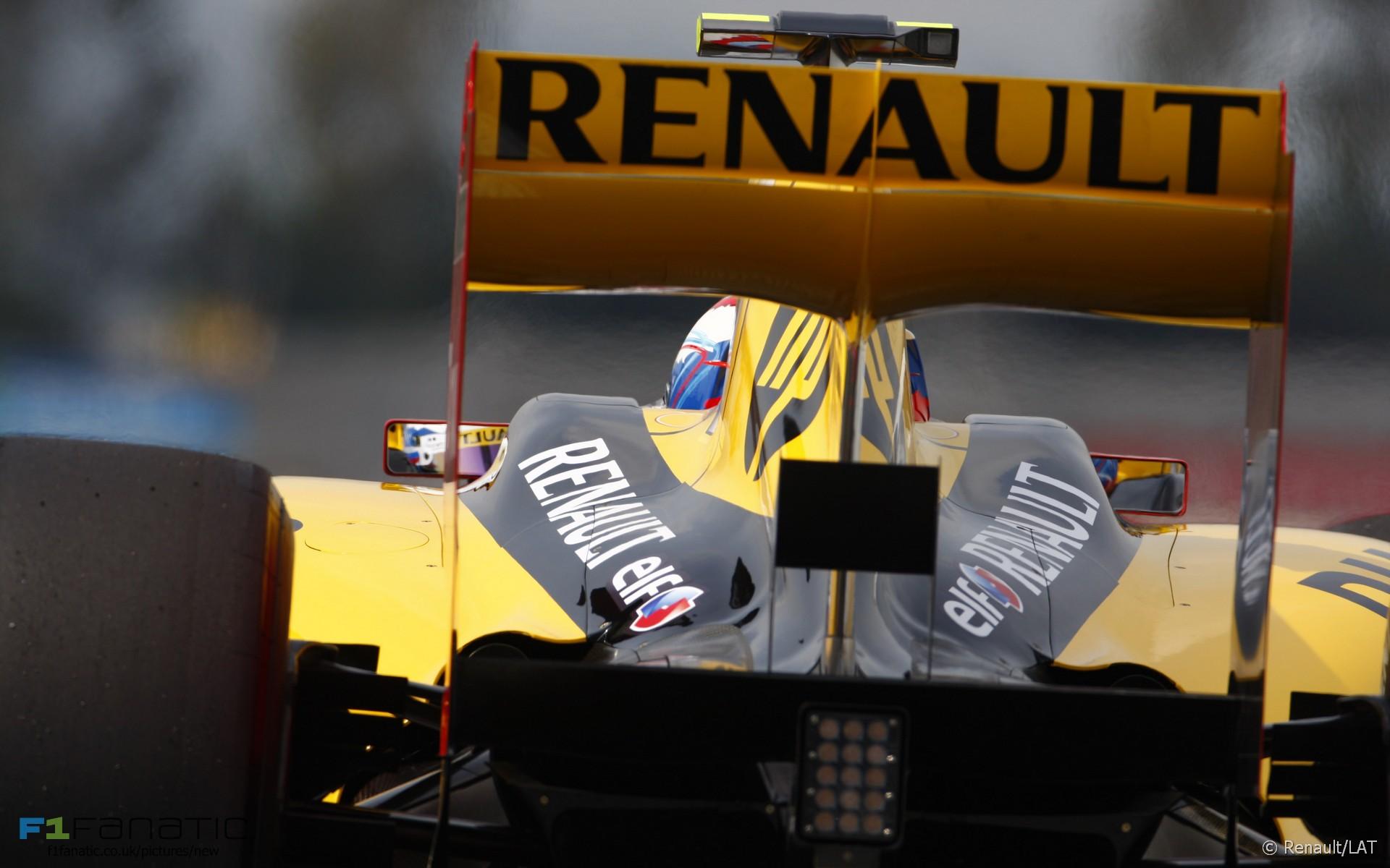 Renault, Circuit de Catalunya, 2010