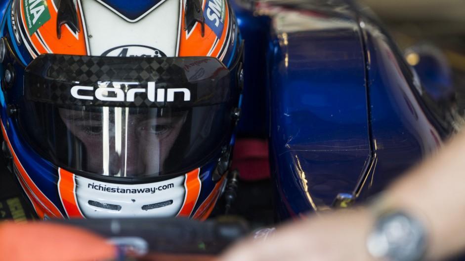 Richie Stanaway, Carlin, GP2, Yas Marina, 2015