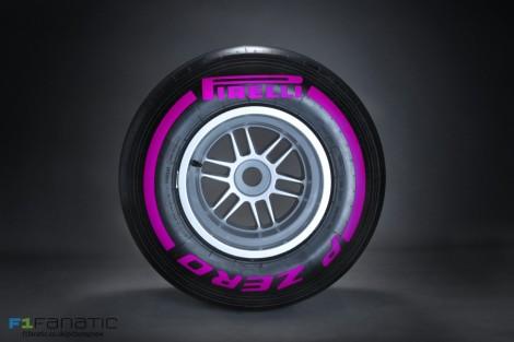 Pirelli ultra-soft tyre