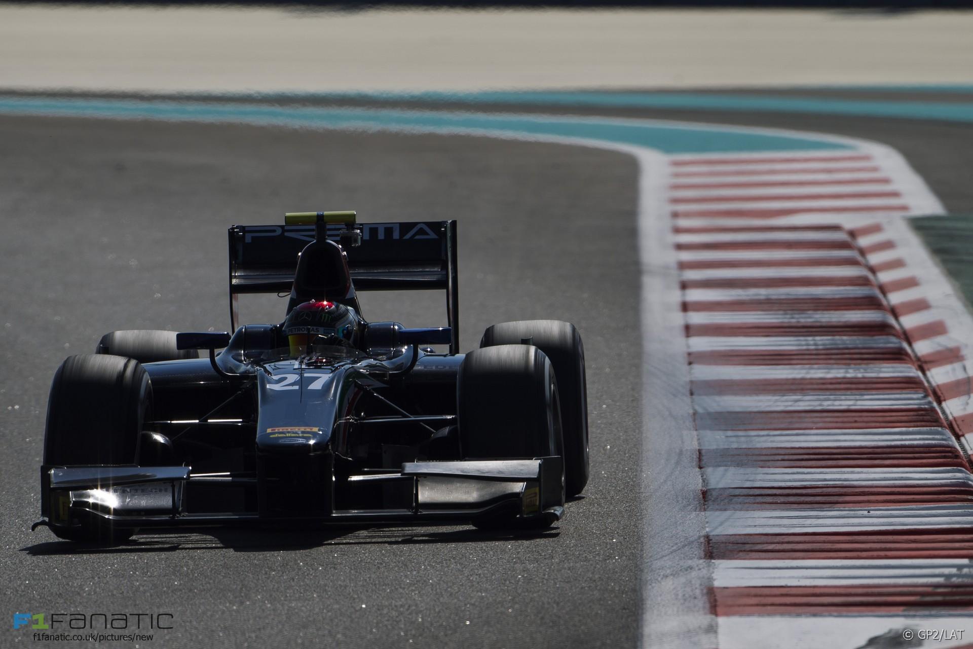 Pascal Wehrlein, Prema, GP2, Yas Marina, 2015