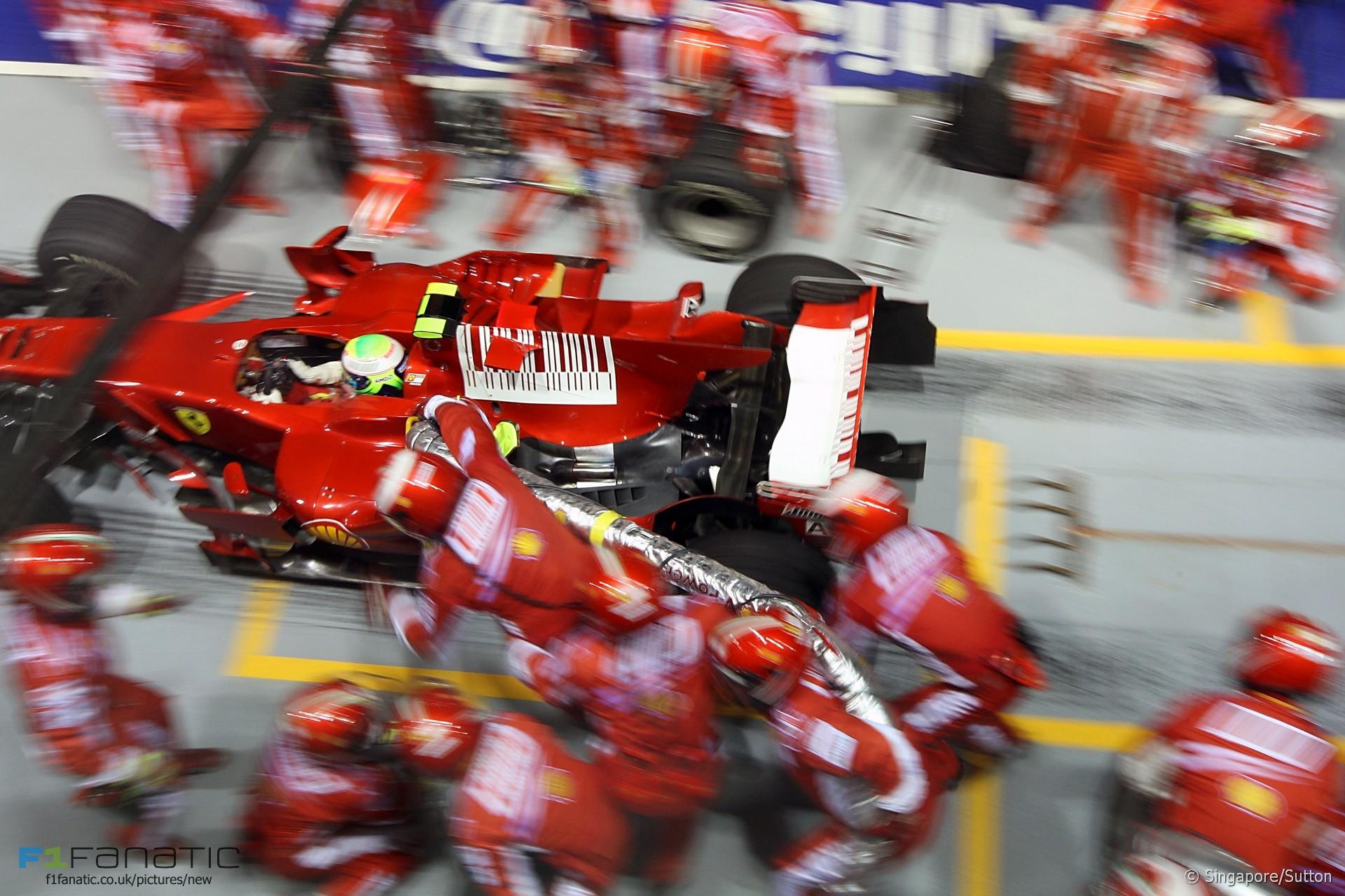 Felipe Massa, Ferrari, Singapore, 2008