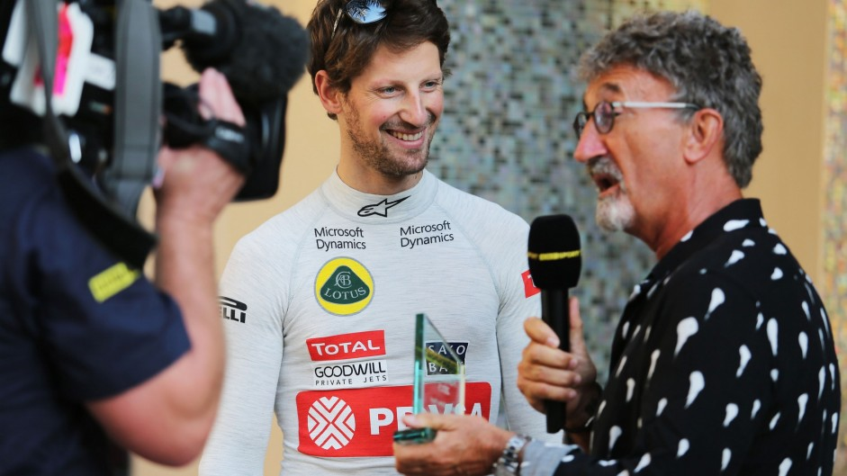 Caption Competition 95: Grosjean and Jordan