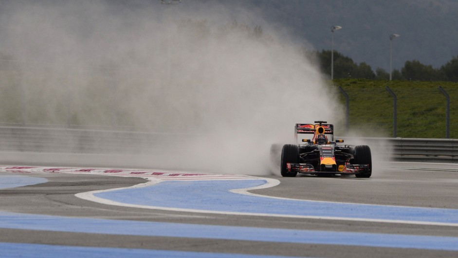 Daniil Kvyat, Red Bull, Paul Ricard, 2016