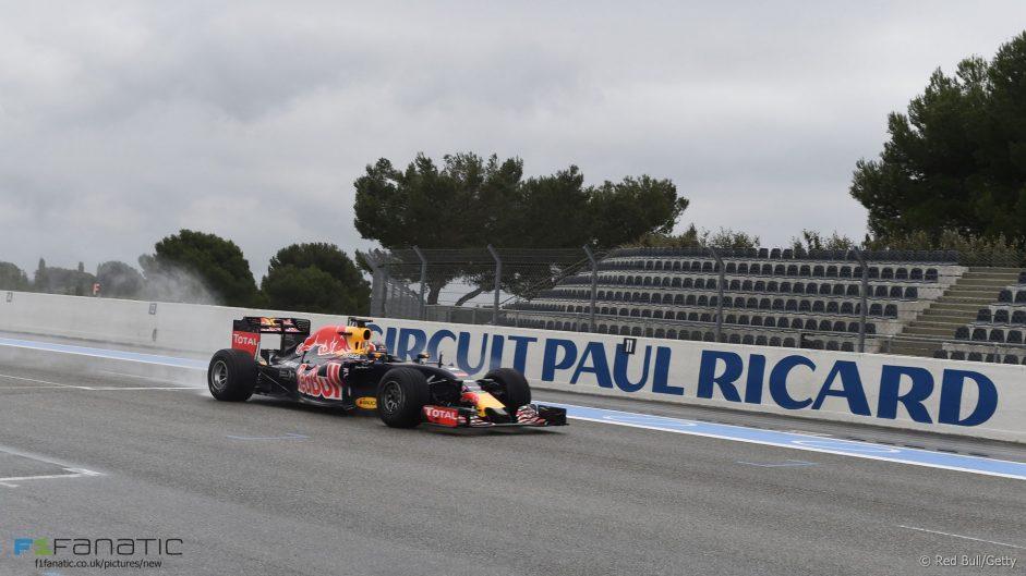 Daniil Kvyat, Red Bull, Paul Ricard, 2016