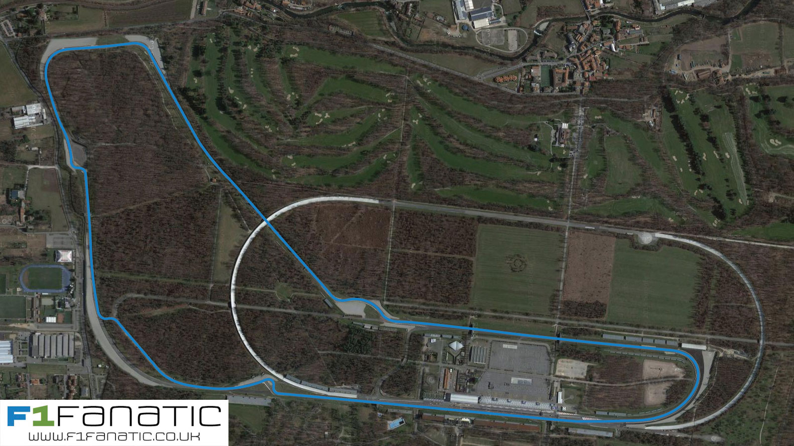 Potential new chicane at Monza for 2017
