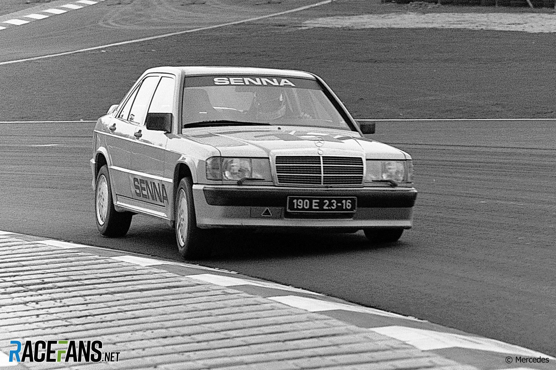 Ayrton Senna, Nurburgirng, Mercedes 190 E, 1984