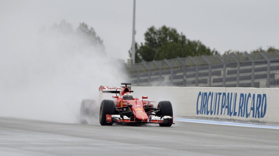 Kimi Raikkonen, Ferrari, Paul Ricard, 2016