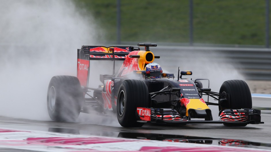 Pirelli wet tyre test day one in pictures