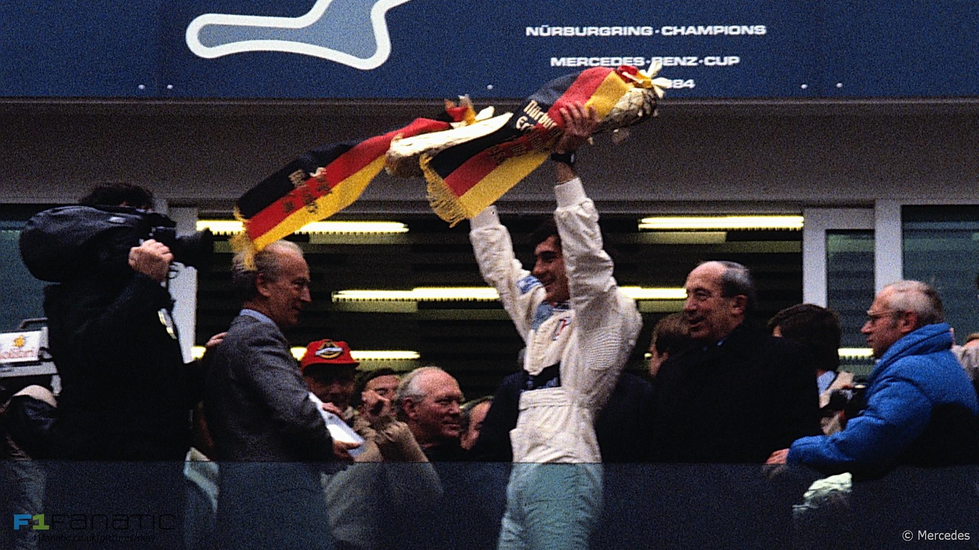 Ayrton Senna, Nurburgring, 1984