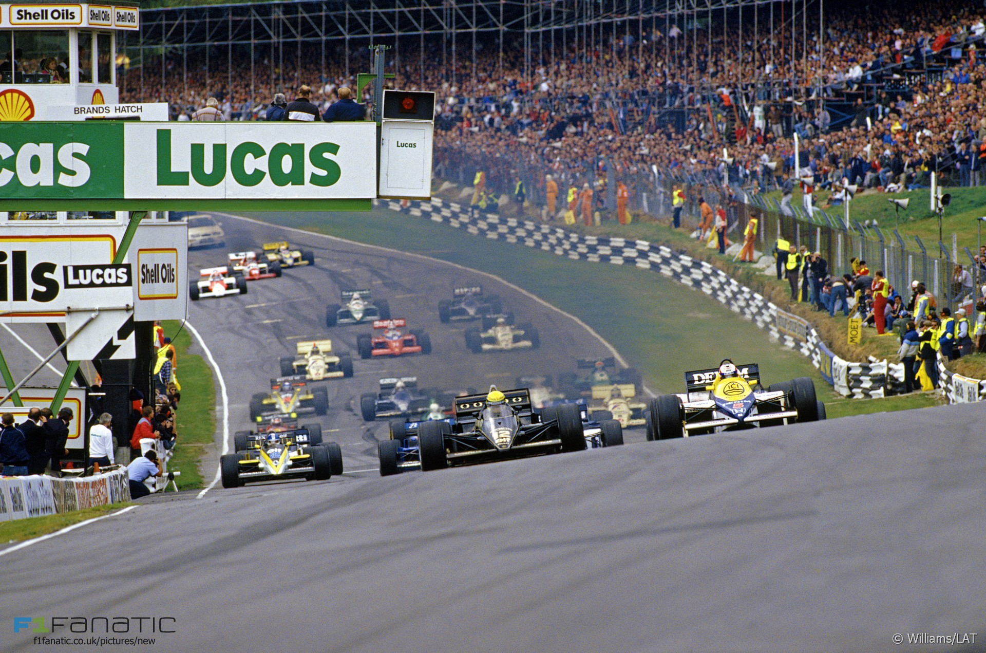Start, Brands Hatch, 1985