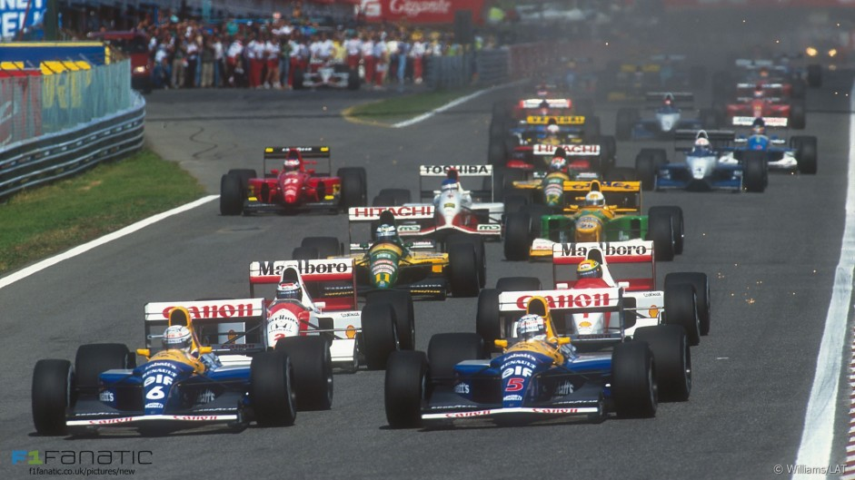 F1 should have full grids again – Mansell