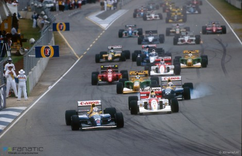 Start, Adelaide, 1992