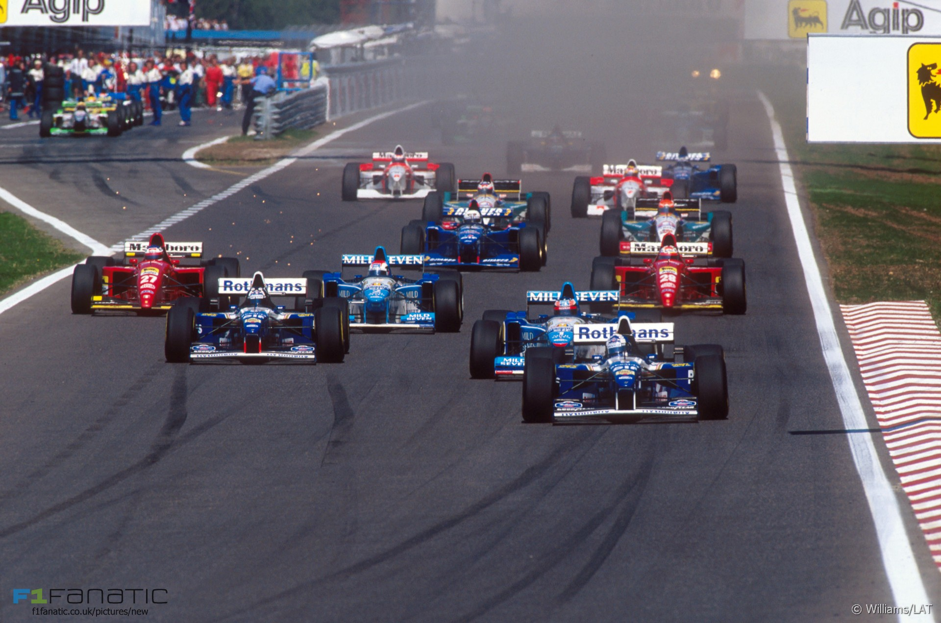 Start, Estoril, 1995