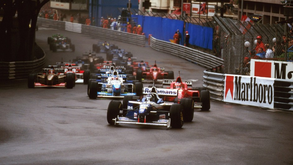 20 years ago today: Three cars stagger to the flag in Monaco