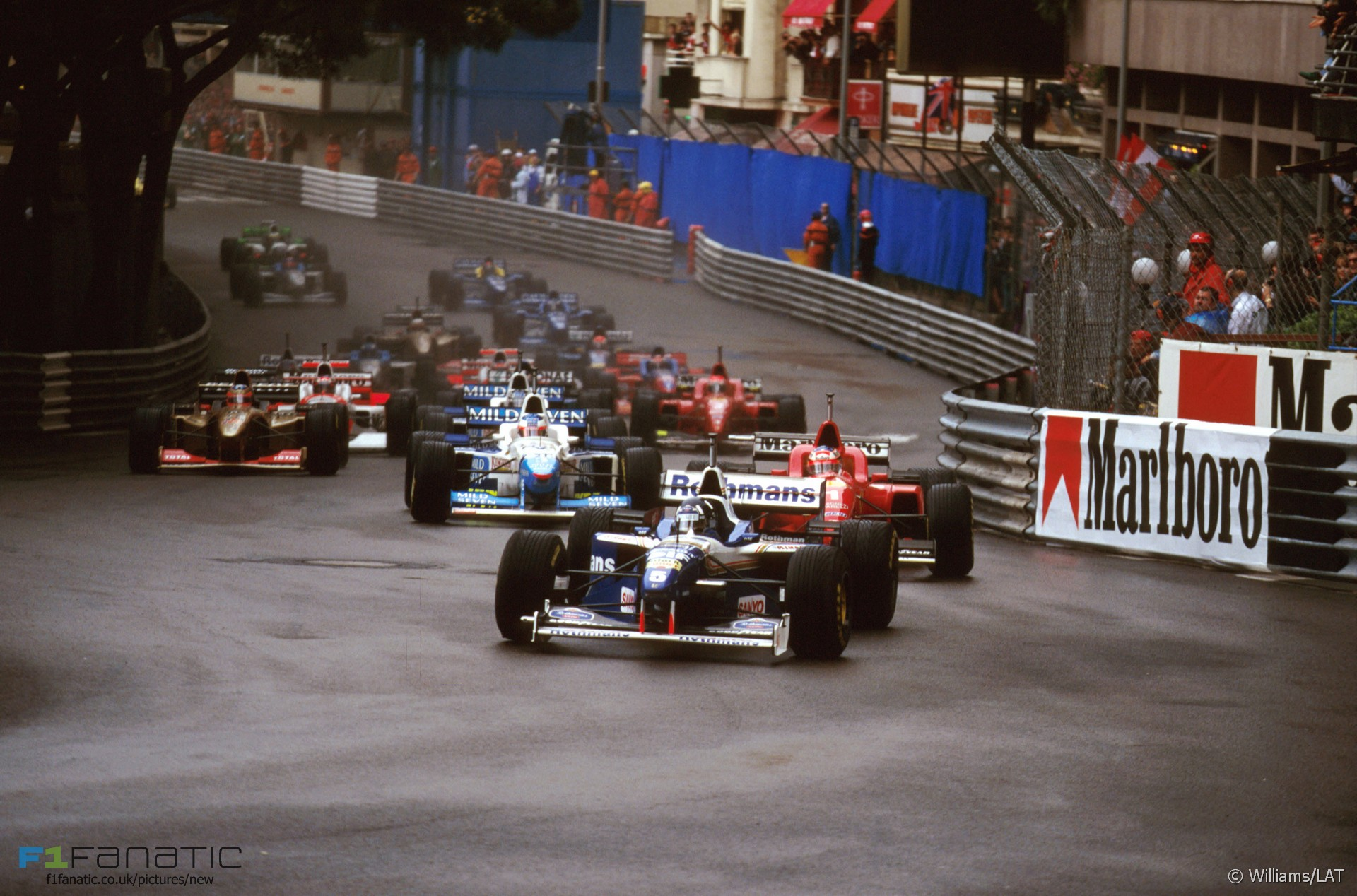 Start, Monte-Carlo, Monaco, 1996