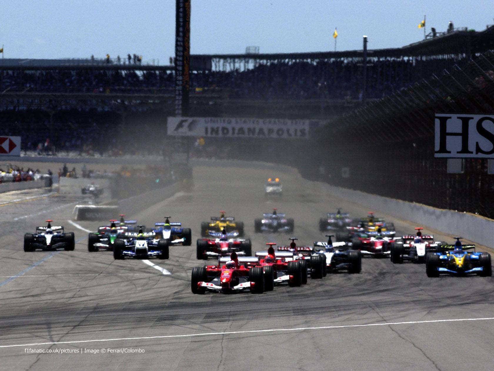 Start, Indianapolis, 2004