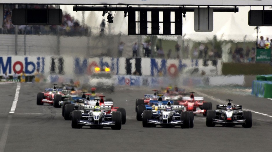 Start, Magny-Cours, 2003