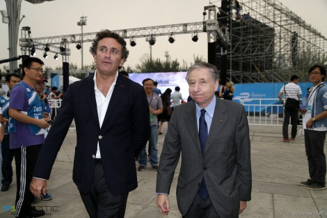 Jean Todt, Formula E, Beijing, 2014