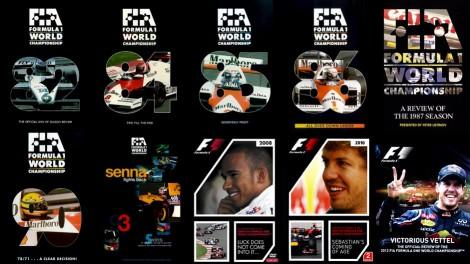 F1 season review videos