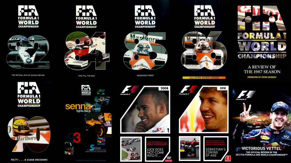 Top Ten: F1 season review videos