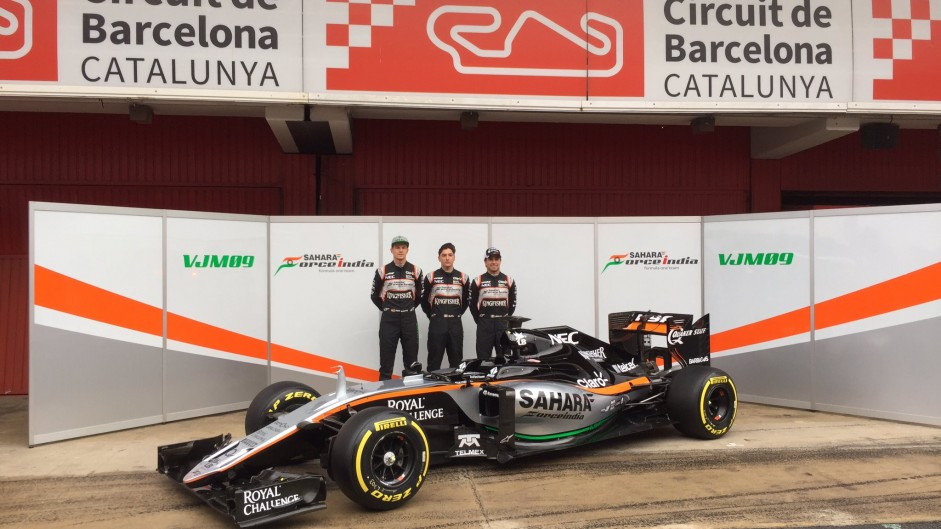 Force India confirm launch date for 2017 car