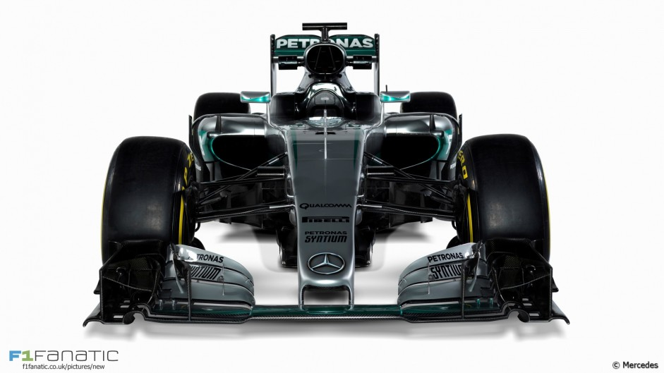 Mercedes W07: First pictures revealed