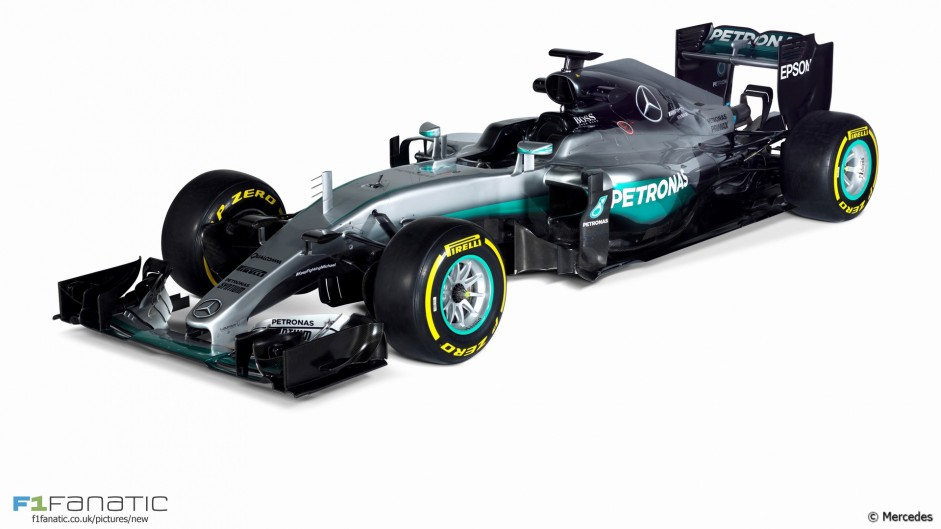 Mercedes W07: Technical analysis