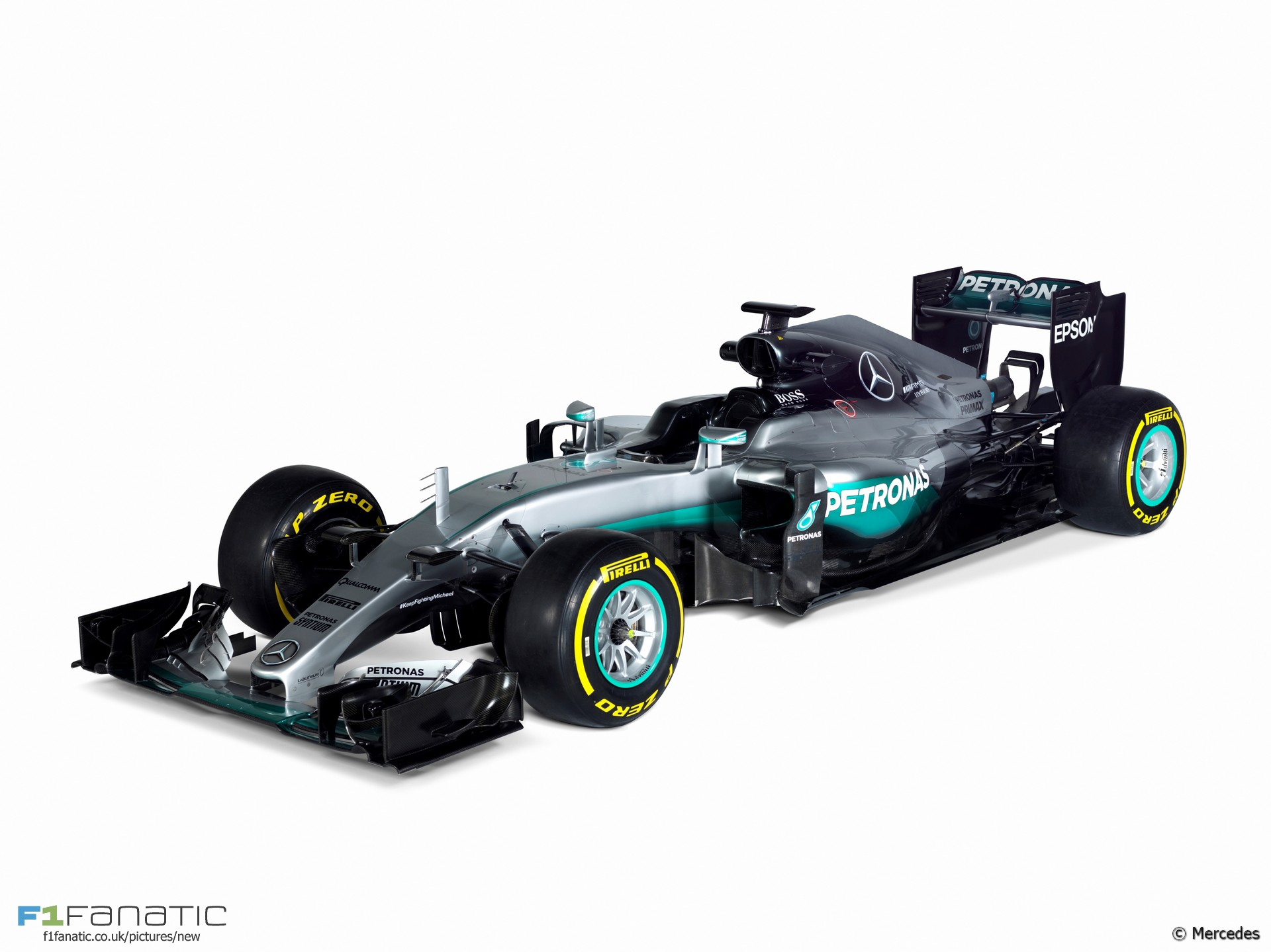 Compare mercedes 39 new w07 with their 2015 car f1 fanatic for Mercedes benz f1