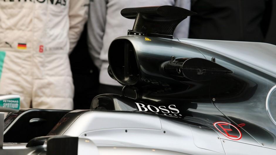 Mercedes W07, Circuit de Catalunya, 2016