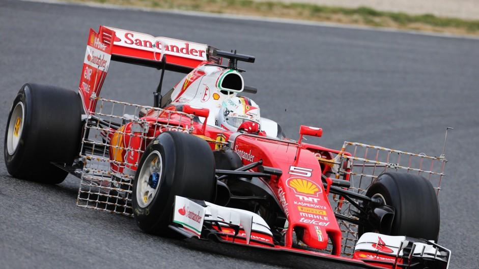Sebastian Vettel, Ferrari SF16-H, Circuit de Catalunya, 2016