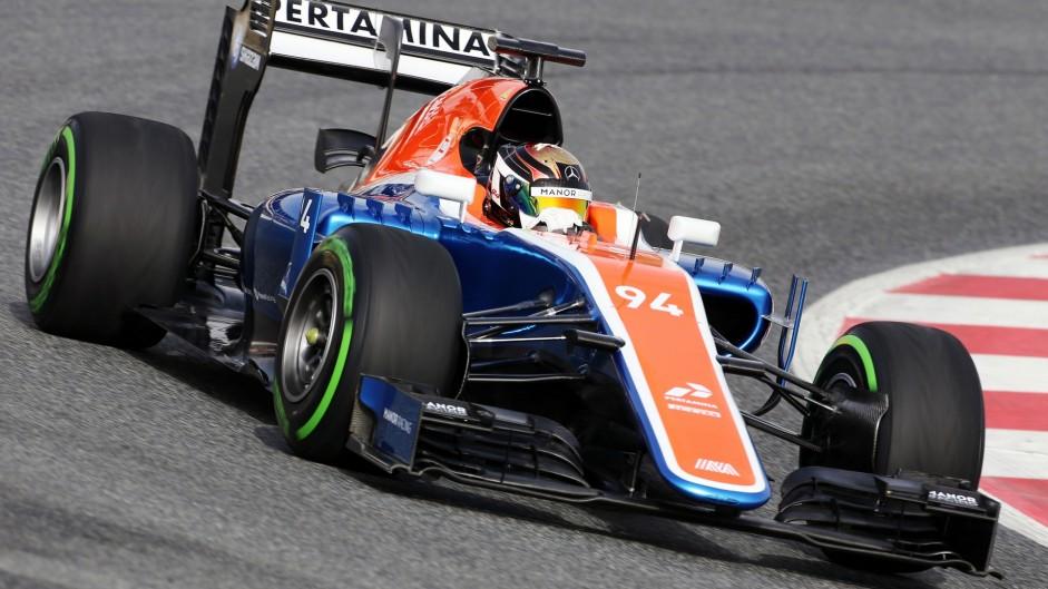 Pascal Wehrlein, Manor, Circuit de Cataunya, 2016
