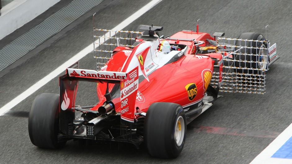 Sebastian Vettel, Ferrari, Circuit de Catalunya, 2016