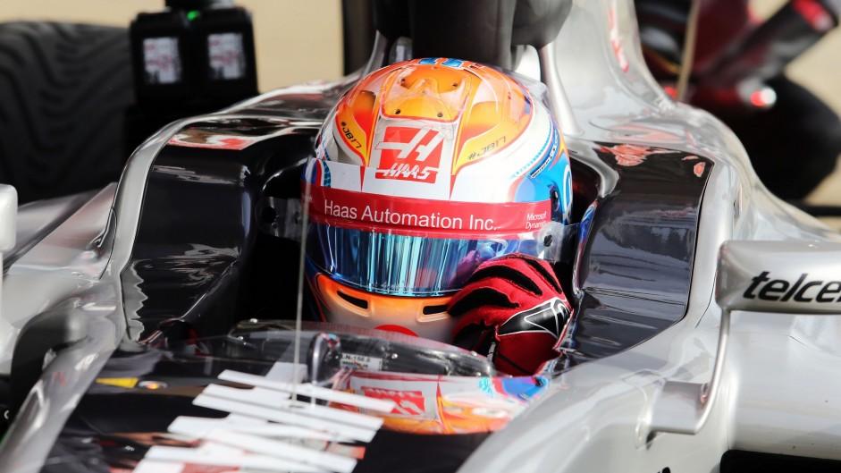 Romain Grosjean, Haas, Circuit de Catalunya, 2016