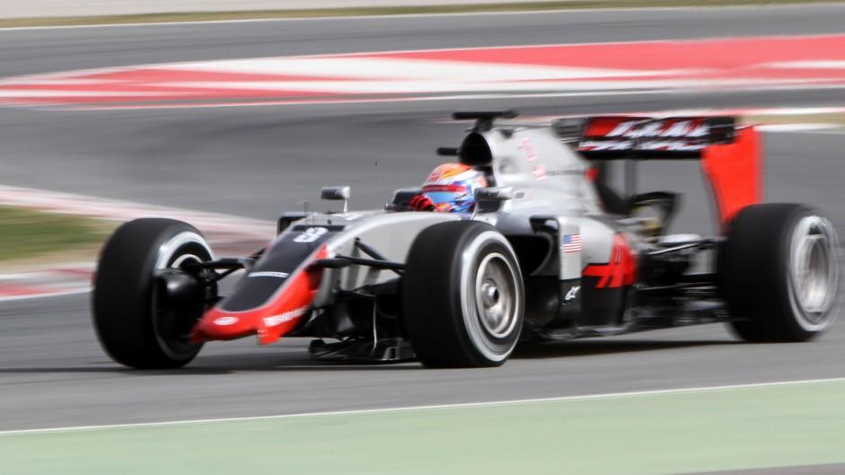 'No big problems' for Haas despite wing failure
