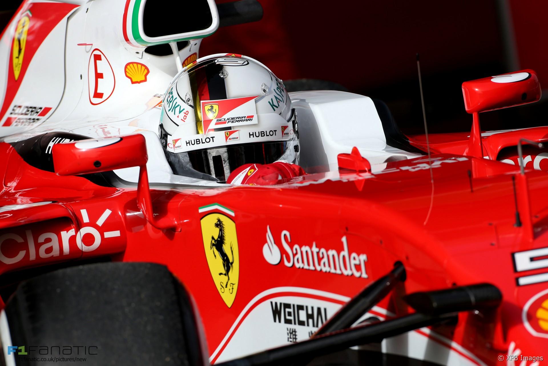 Download Ferrari Formula 1 Wallpaper Vettel 2016  PNG
