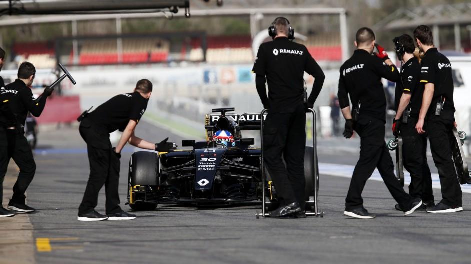 Jolyon Palmer, Renault, Circuit de Catalunya, 2016