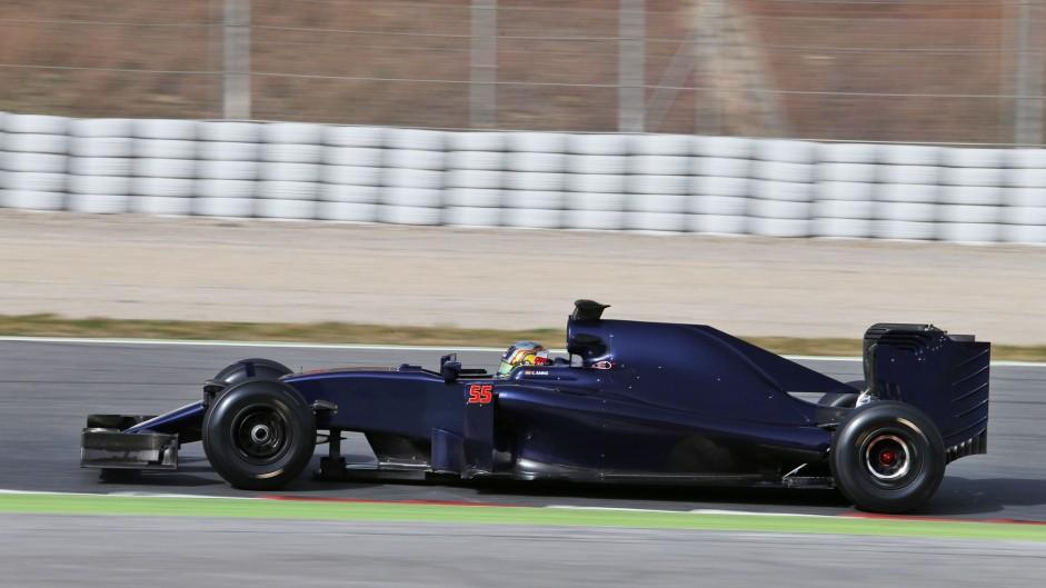 Carlos Sainz Jnr, Toro Rosso, Circuit de Catalunya, 2016