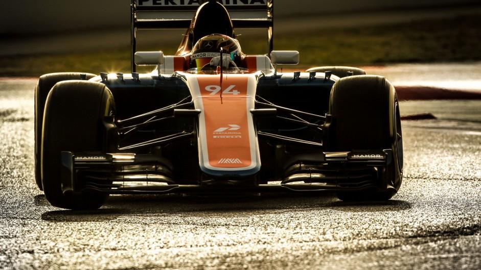Pascal Wehrlein, Manor, Circuit de Catalunya, 2016