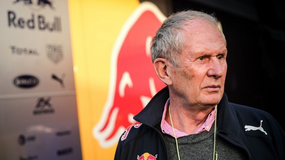 Helmut Marko, Red Bull, Circuit de Catalunya, 2016