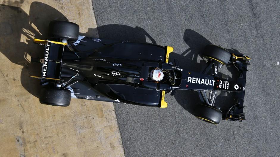 Kevin Magnussen, Renault, Circuit de Catalunya, 2016