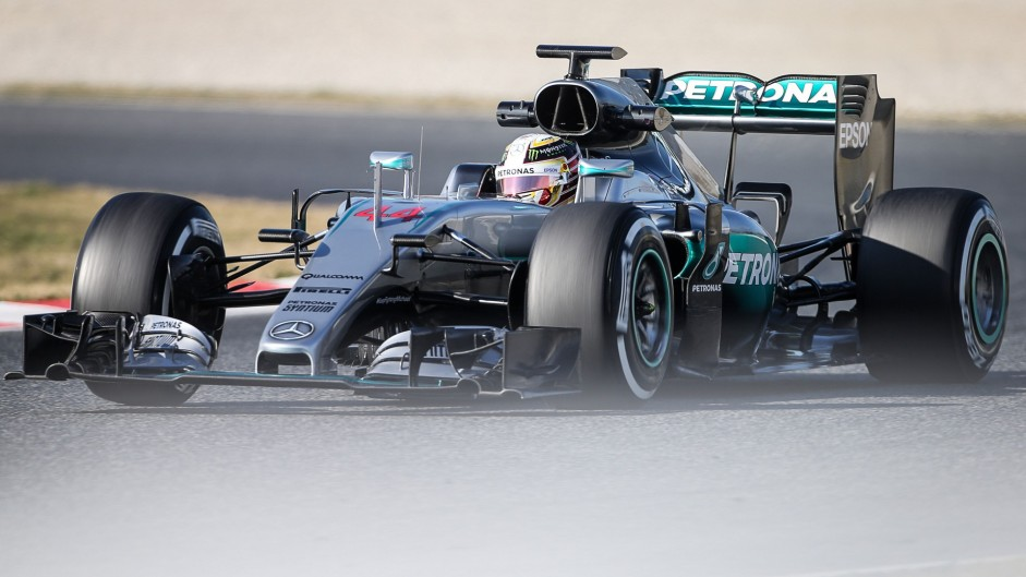 "Hamilton pleased to break up ""tedious"" testing"