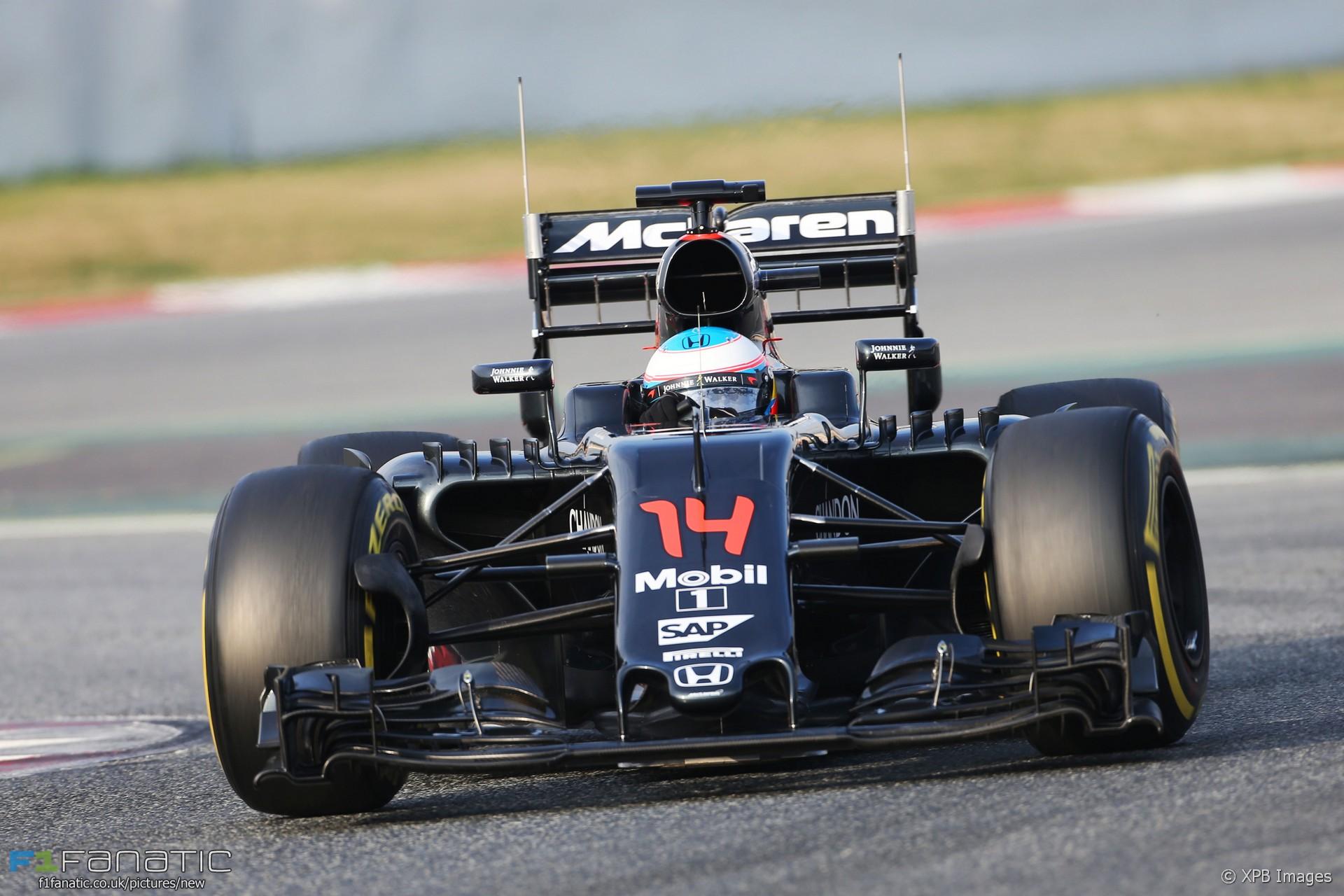 Fernando Alonso, McLaren, Circuit de Catalunya, 2016 · F1 ...