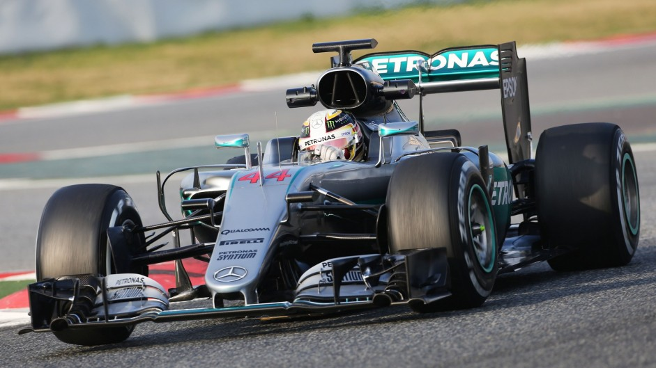 Mercedes's daunting test form shows they intend to dominate again