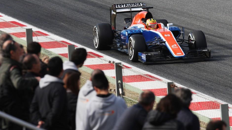 Rio Haryanto, Manor, Circuit de Catalunya, 2016