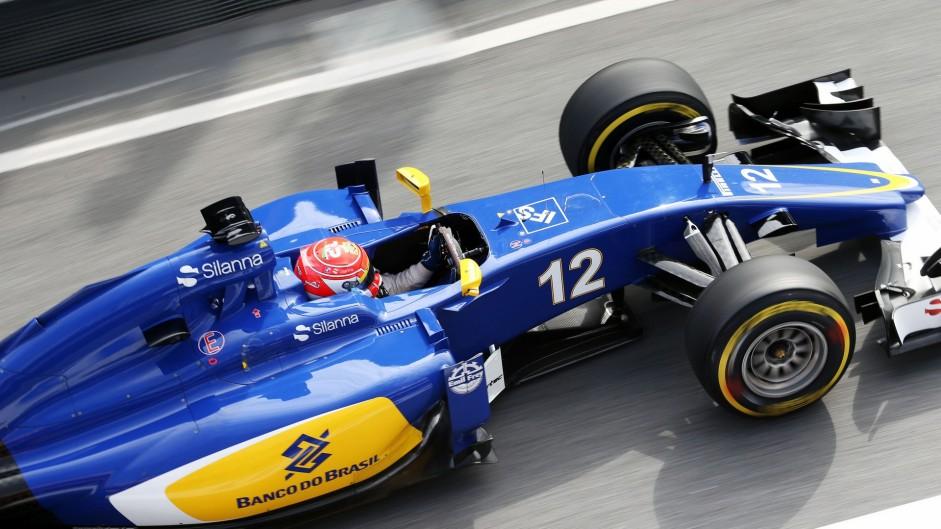 Felipe Nasr, Sauber, Circuit de Catalunya, 2016