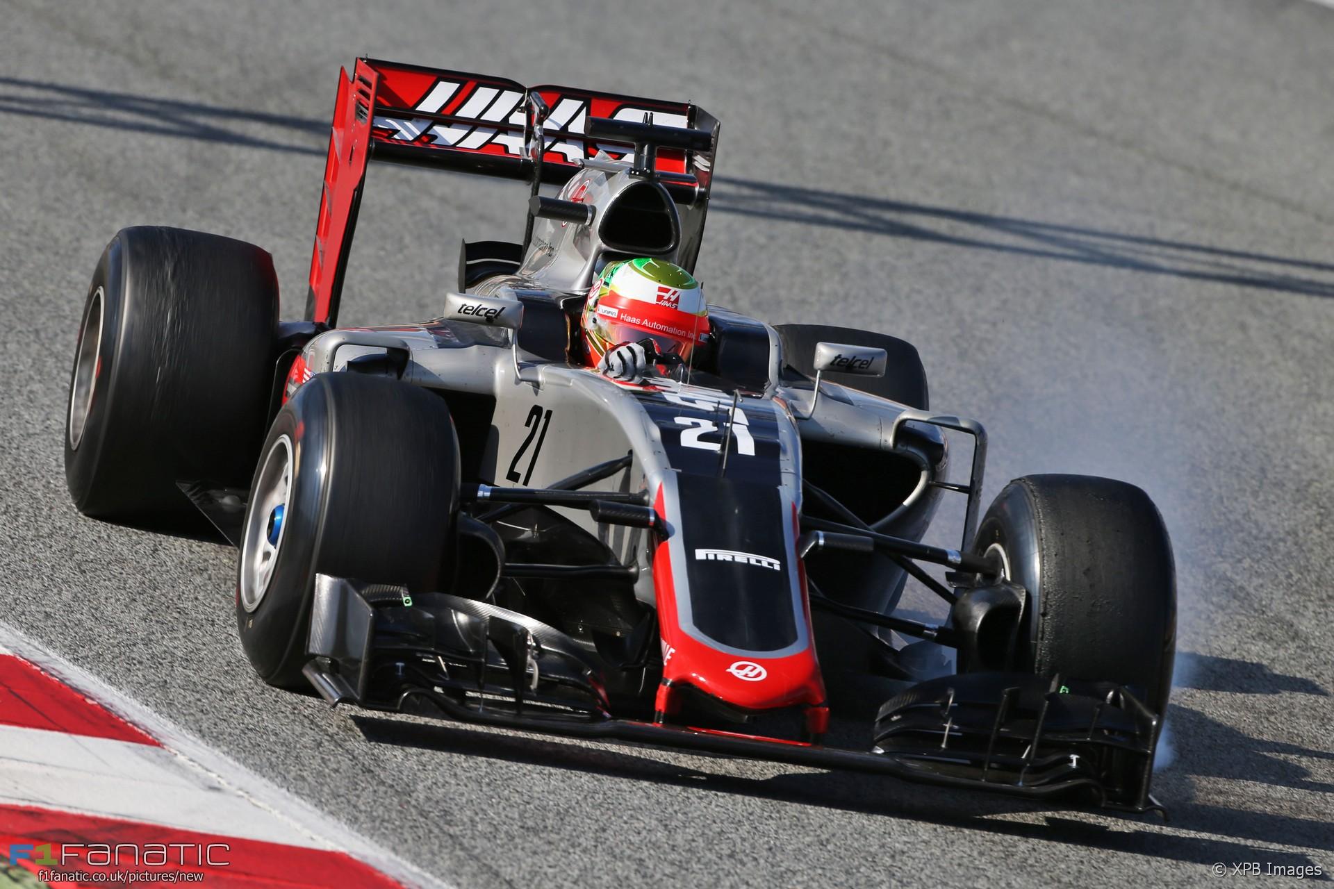 Esteban Gutierrez, Haas, Circuit de Catalunya, 2016