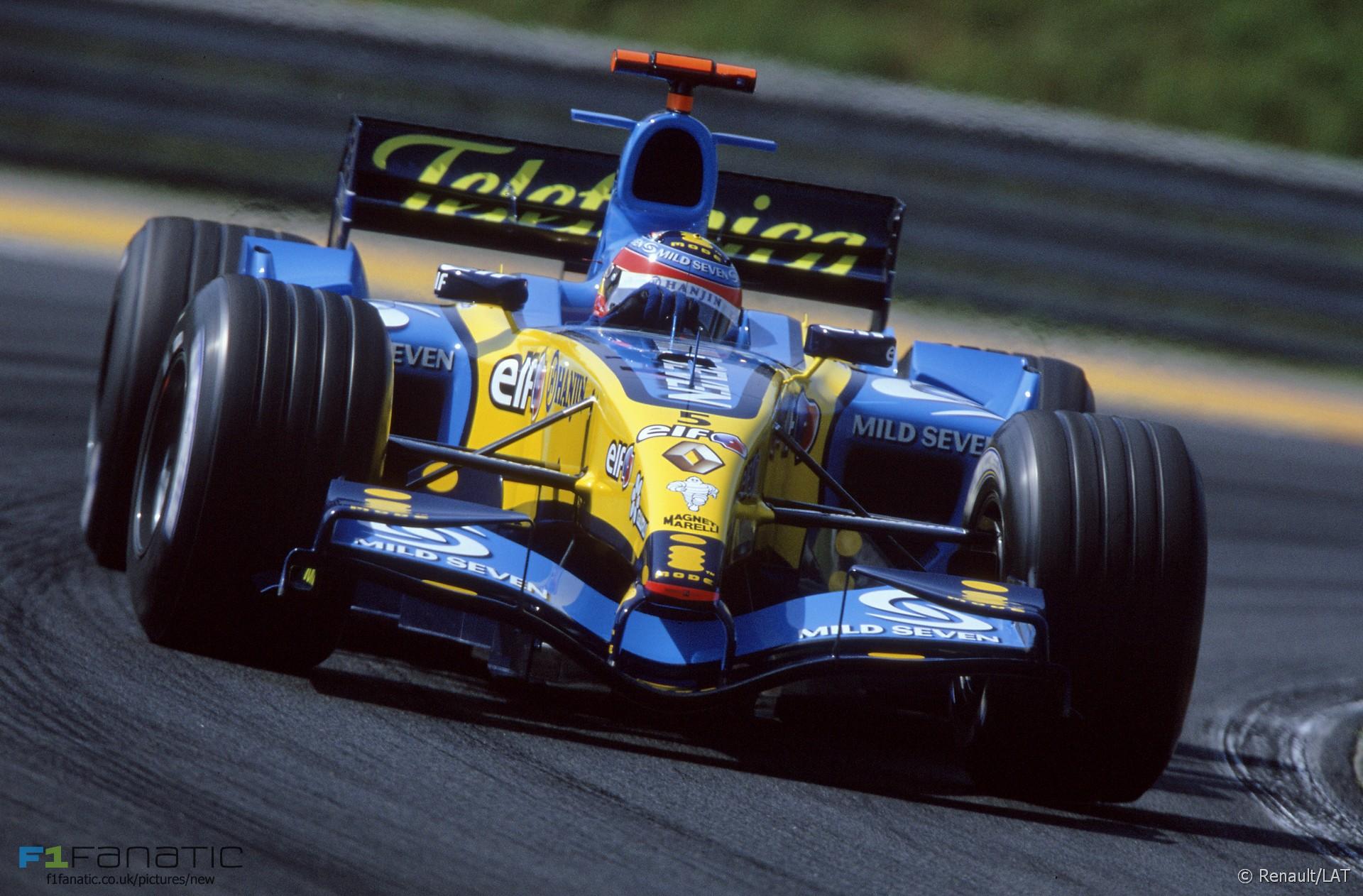 Fernando Alonso, Renault, Hungaroring, 2005